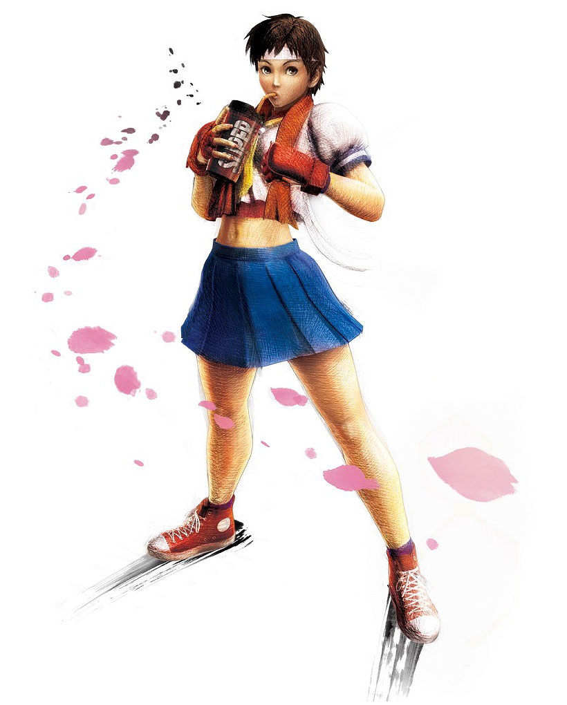 Sakura Art Super Street Fighter Iv Art Gallery