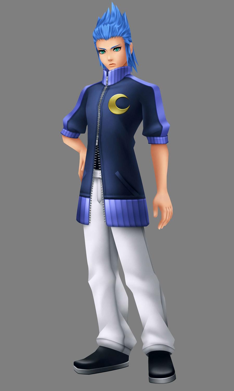 Isa  Characters  Art  Kingdom Hearts Birth by Sleep
