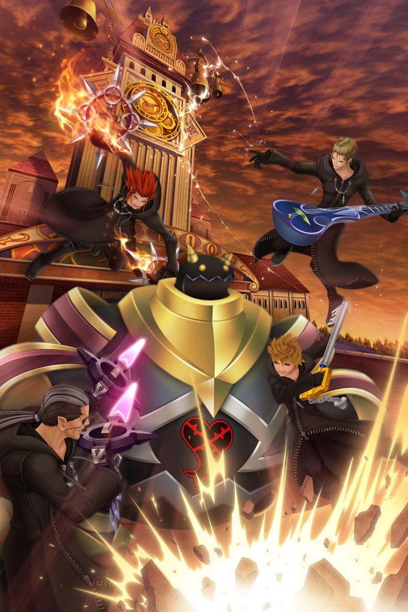 Promotional Art Kingdom Hearts 358 2 Days Art Gallery