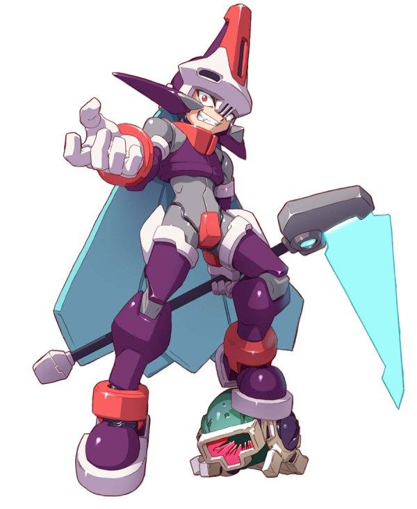 Prometheus Art - Mega Man Zx Advent