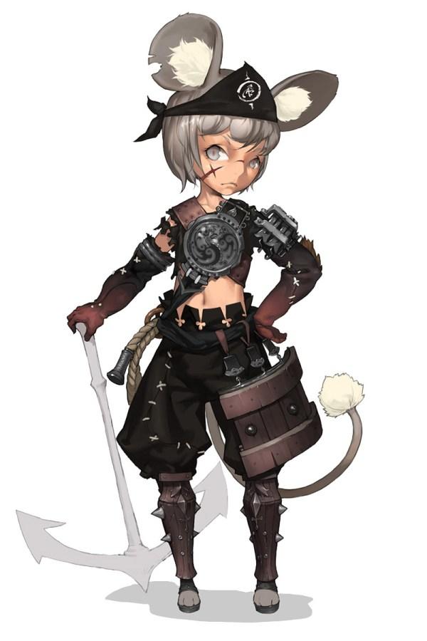 Lyn Male - Characters & Art Blade Soul