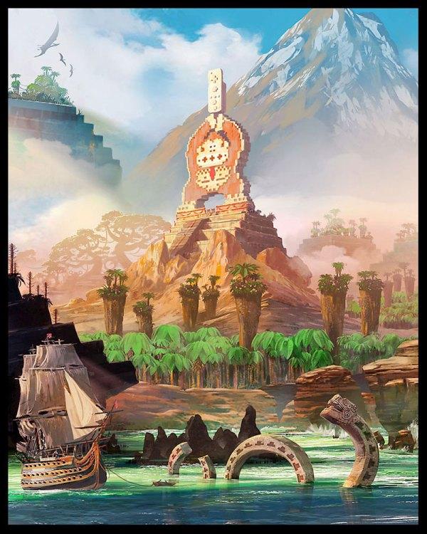 Dk Island - Characters & Art Donkey Kong Country Returns