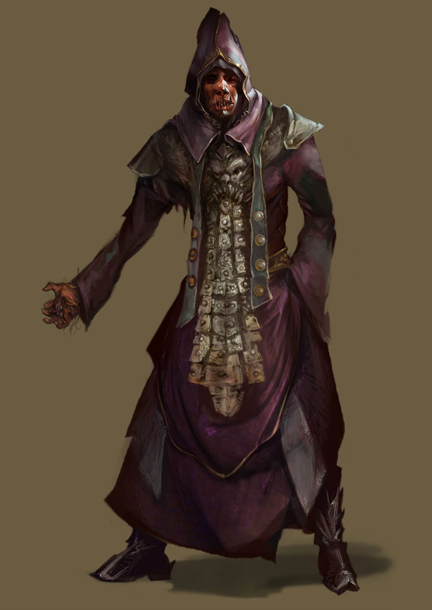 Dark Cultist Characters Amp Art Diablo III