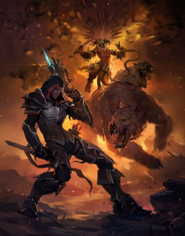Demon Hunter Promo Art - Diablo Iii