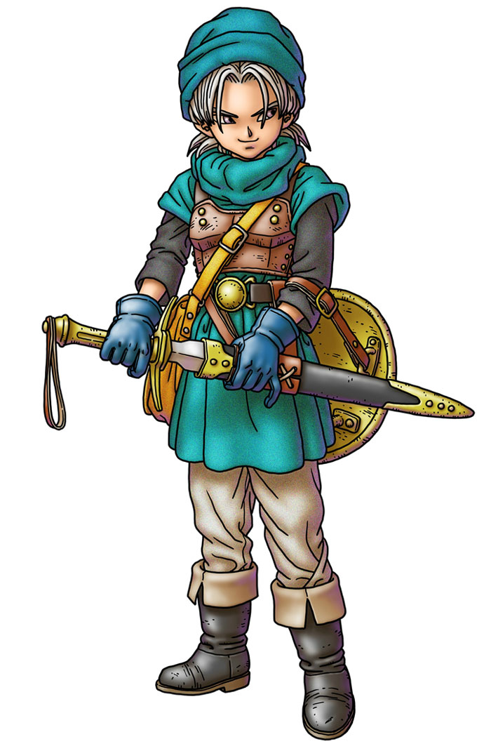 Terry Characters Amp Art Dragon Quest VI Realms Of