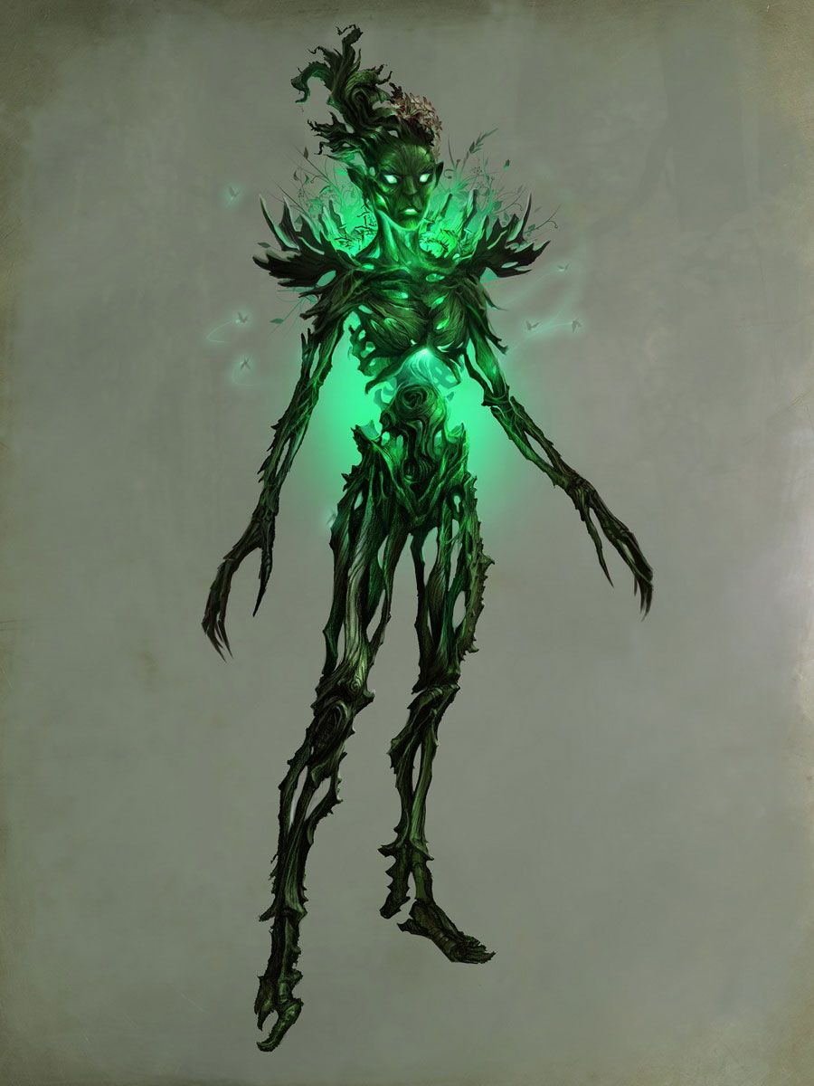 Spriggan Art The Elder Scrolls V Skyrim Art Gallery