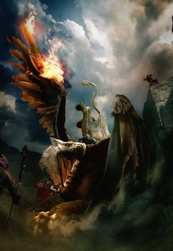Griffin Artwork - Characters & Art Dragon' Dogma