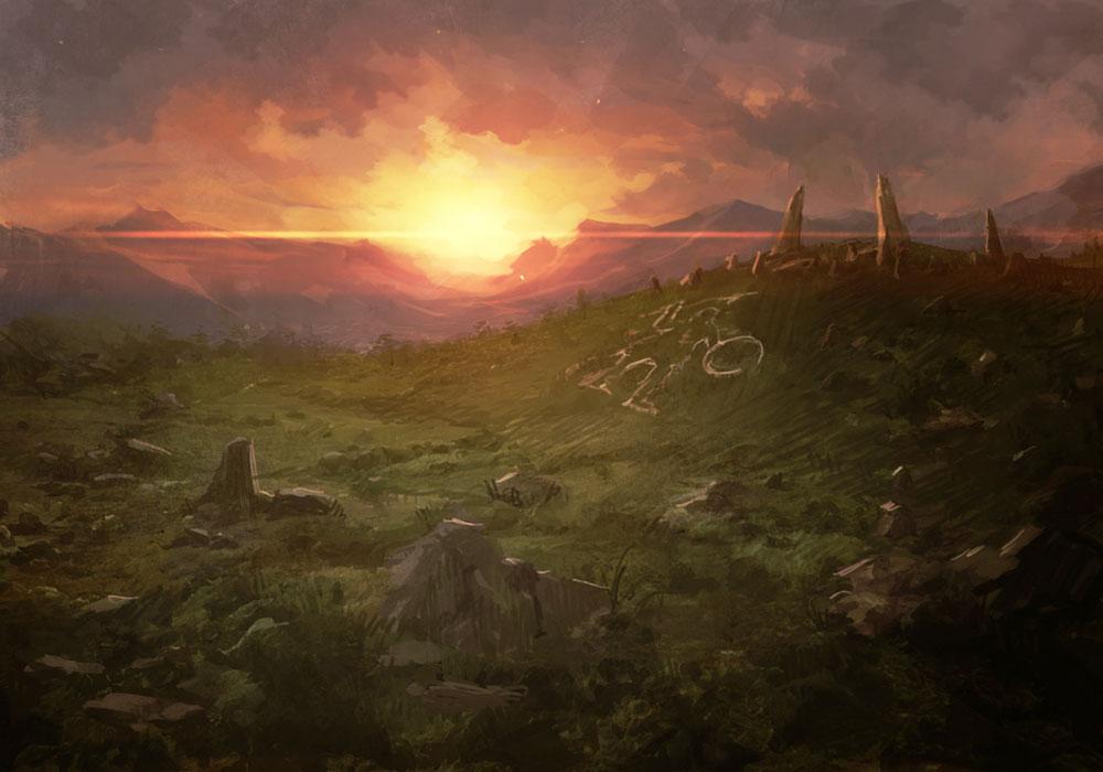 Landscape  Characters  Art  Dragons Dogma