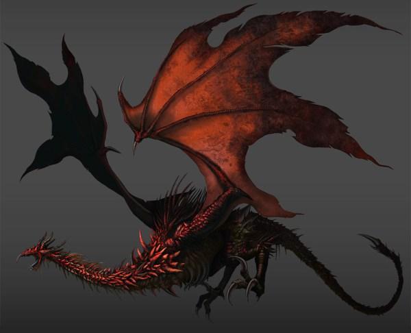 Dark Souls Red Dragon