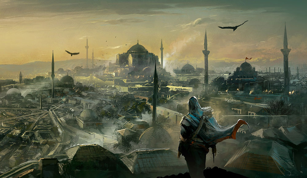 Constantinople Art Assassin S Creed Revelations Art Gallery