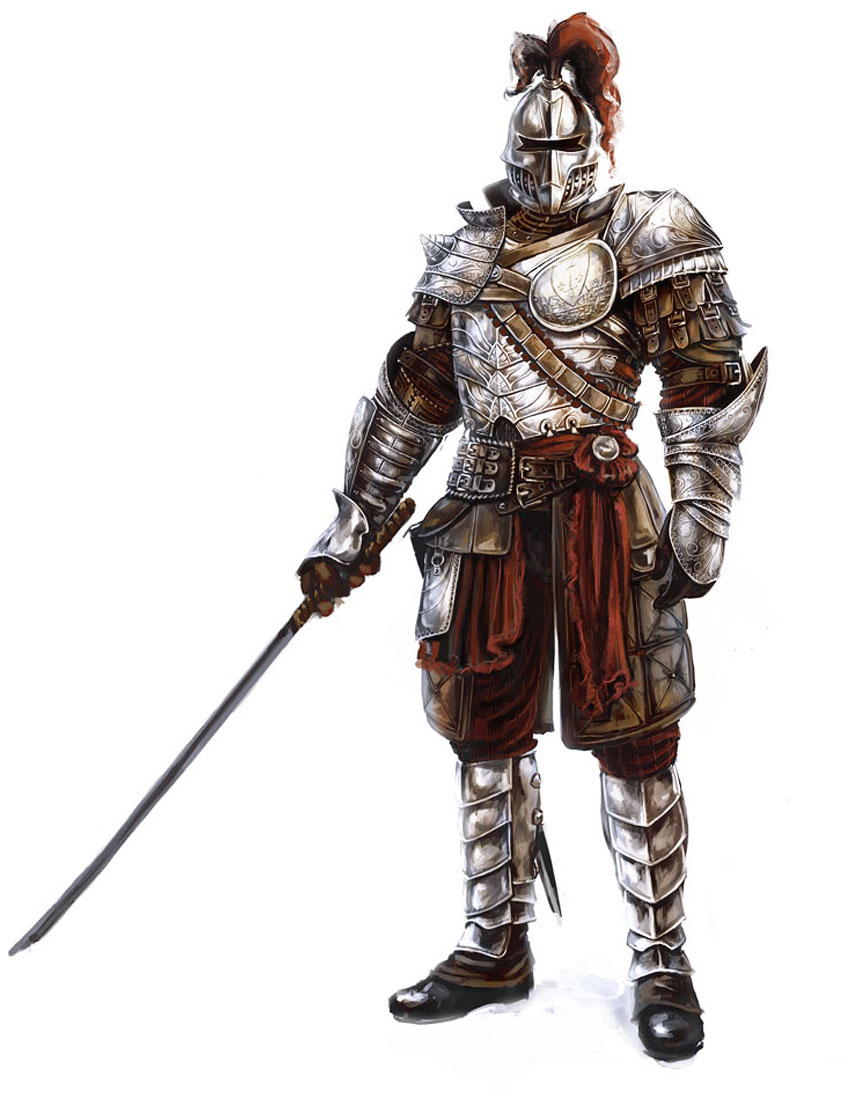 Scevola Spina - The Knight