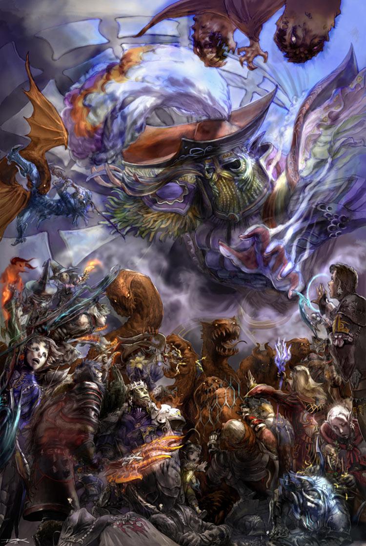 Amon Promo Characters Amp Art Final Fantasy XIV A Realm
