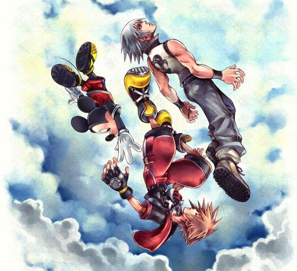 Box Art Illustration - Kingdom Hearts 3d Dream Drop
