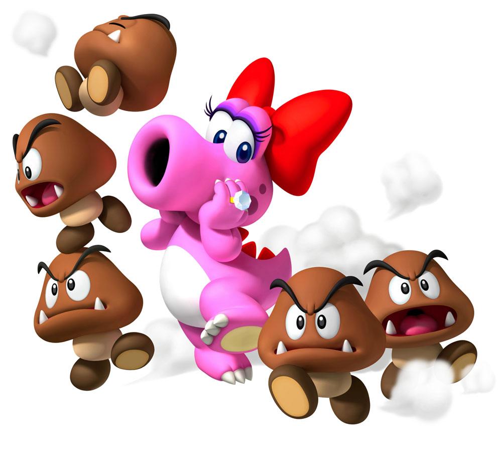 Birdo Amp Goombas Characters Amp Art Mario Party 9