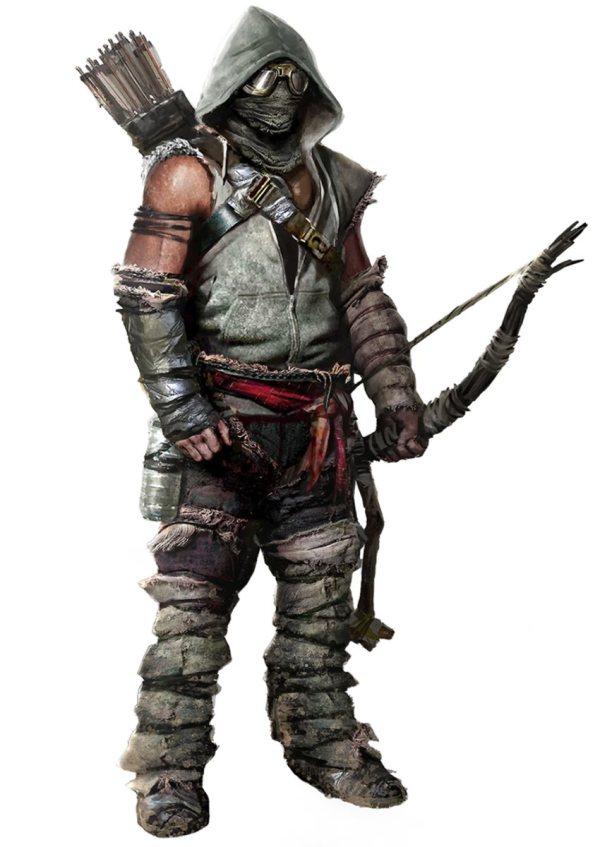 Archer Character Concept Art