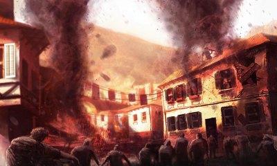 Burning Buildings - Characters & Art - Dead Island