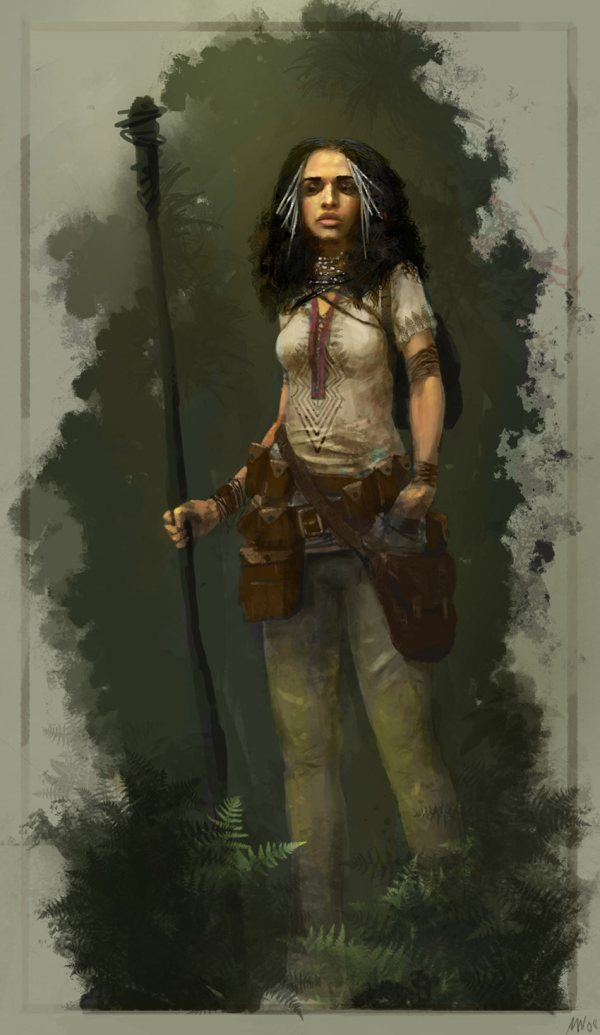 Nomad Female - Characters & Art Secret World
