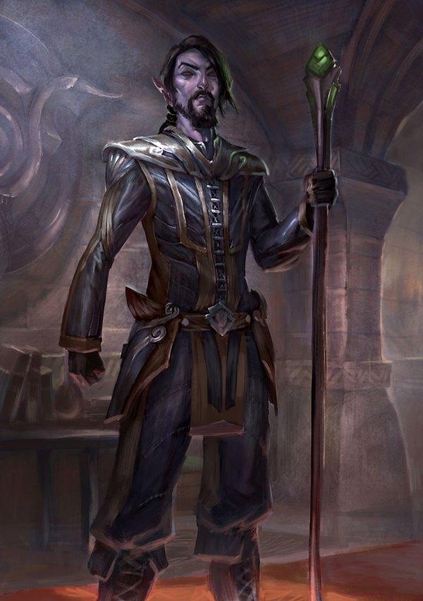 Dark Elf - Characters & Art Elder Scrolls Online
