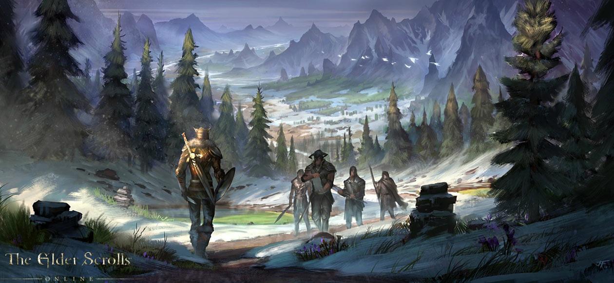 Skyrim Art The Elder Scrolls Online Art Gallery