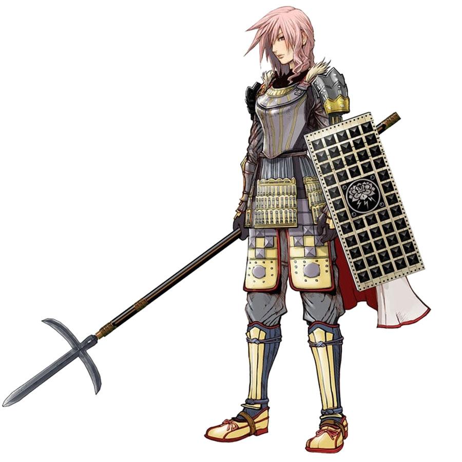 Anime Fantasy Wallpaper Vajra Bodhisattva Samurai Armor Art Lightning Returns