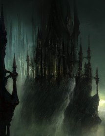 gothic castle - characters & art