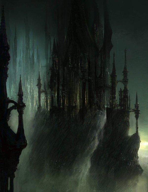 Gothic Castle - Characters & Art Dark Souls Ii