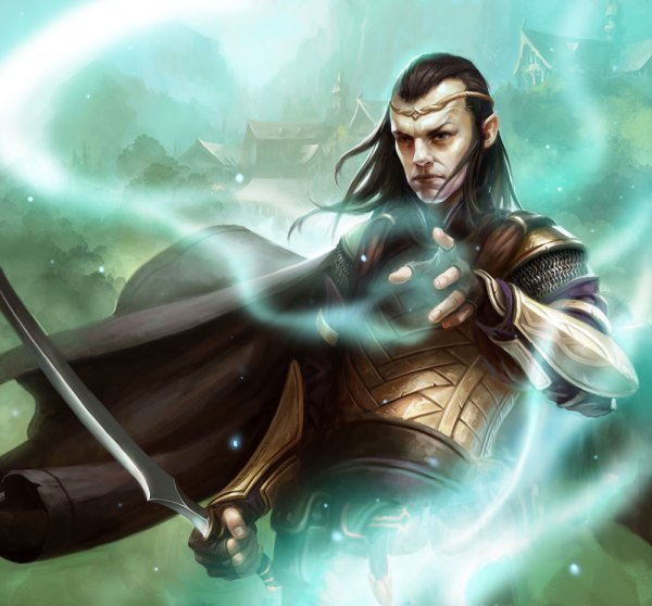 Elrond Art - Guardians Of Middle-earth