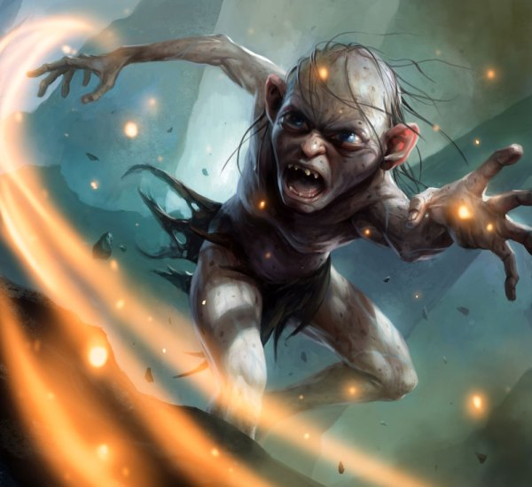 Gollum Art - Guardians Of Middle-earth