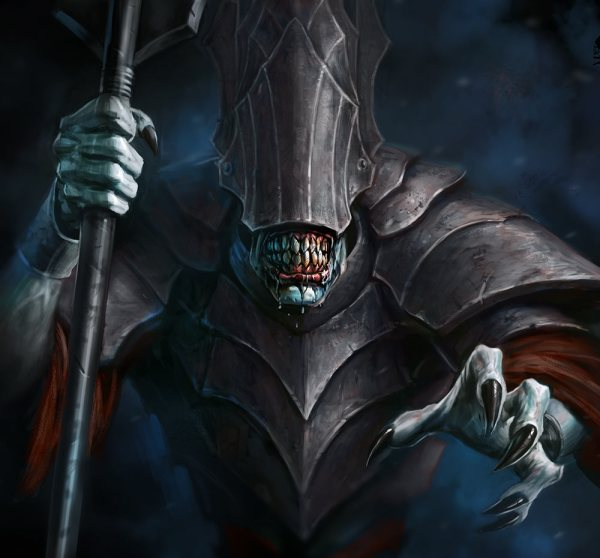 Mouth Of Sauron Art - Guardians Middle-earth