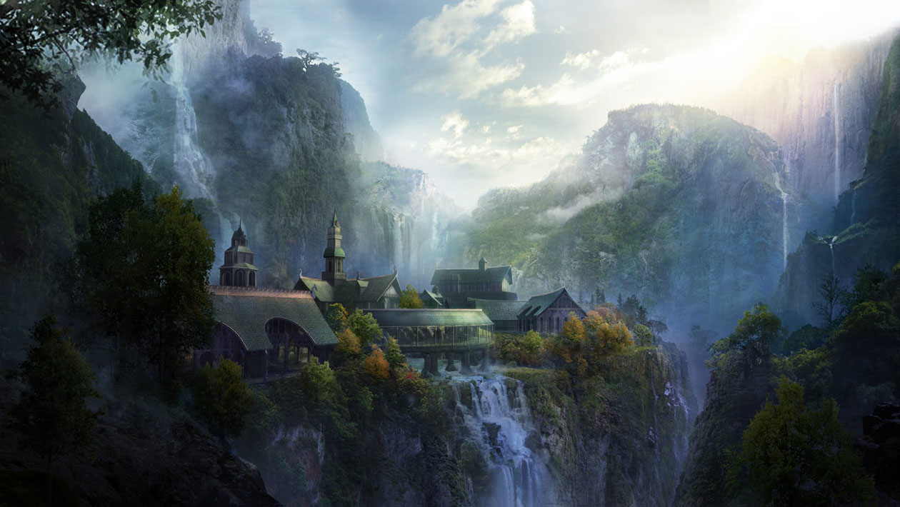 Rivendell Characters Amp Art The Lord Of The Rings War
