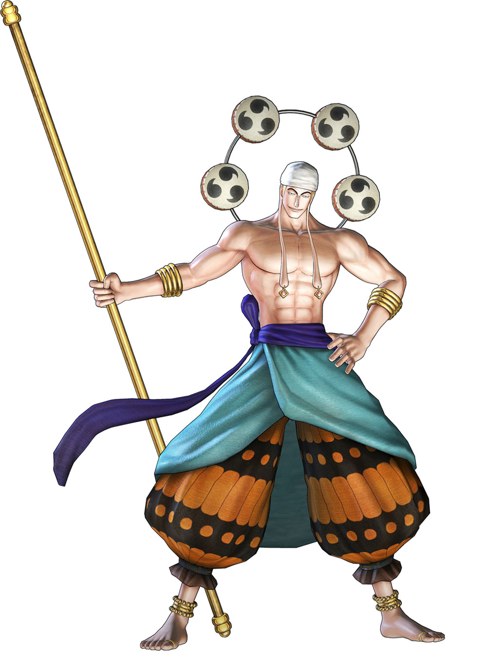 Enel  Characters  Art  One Piece Pirate Warriors 2