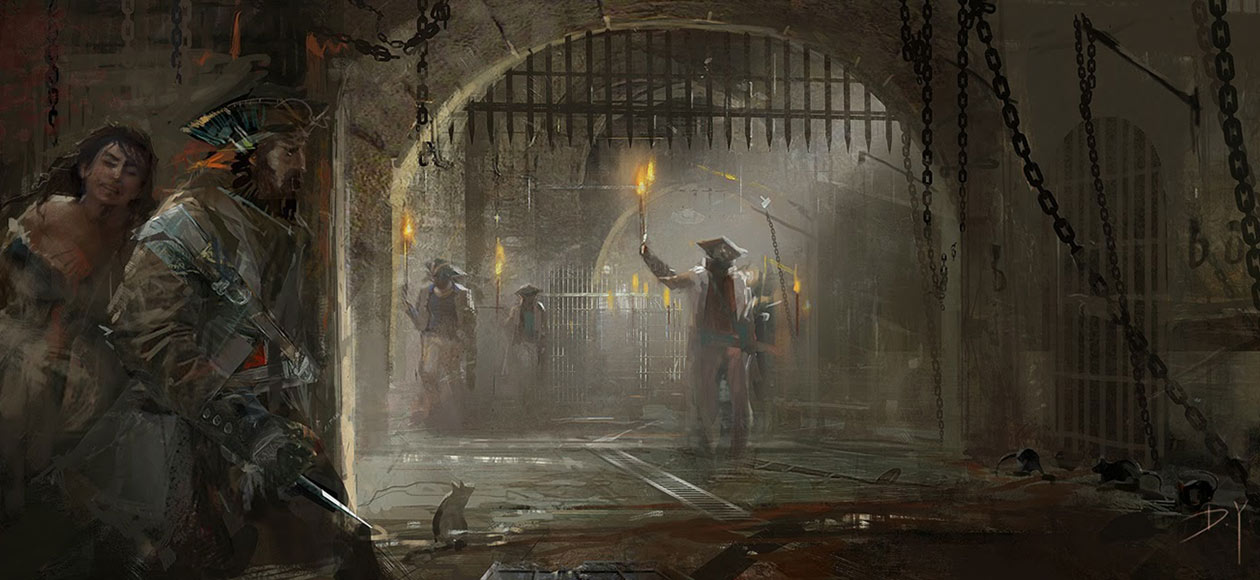 Dungeon Art Assassin S Creed Iv Black Flag Art Gallery
