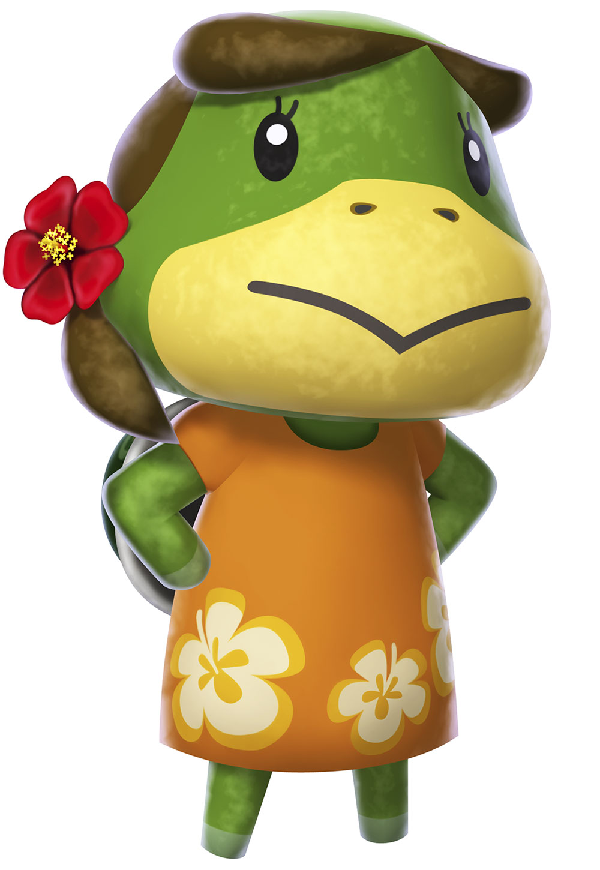 Leilani Art Animal Crossing New Leaf Art Gallery