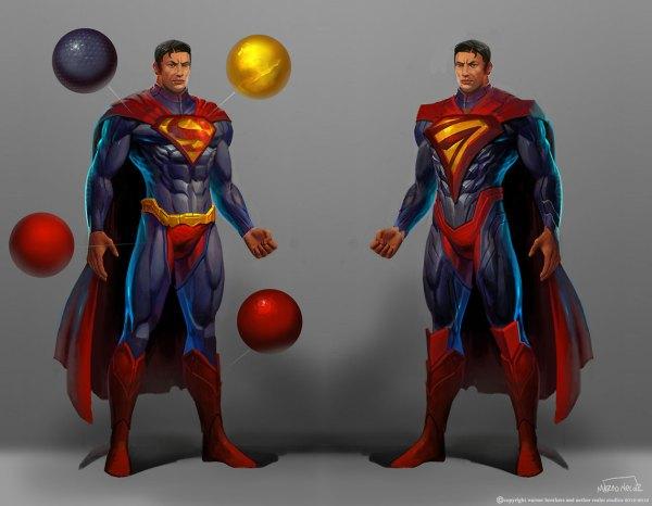 Injustice Superman Concept Art 2