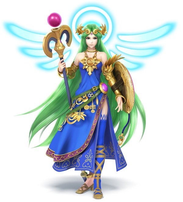 Palutena Palette Swap - Characters & Art Super Smash