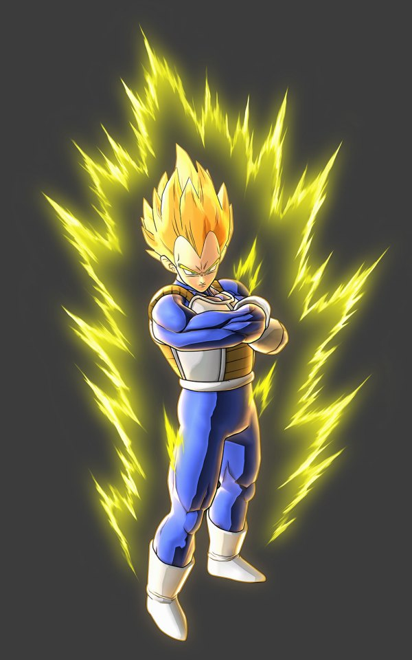 Super Saiyan Vegeta Art - Dragon Ball Battle Of
