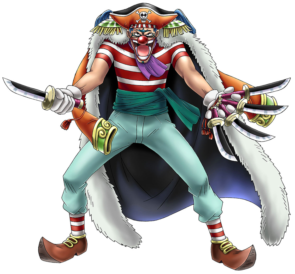 Buggy The Clown Characters Amp Art One Piece Romance Dawn