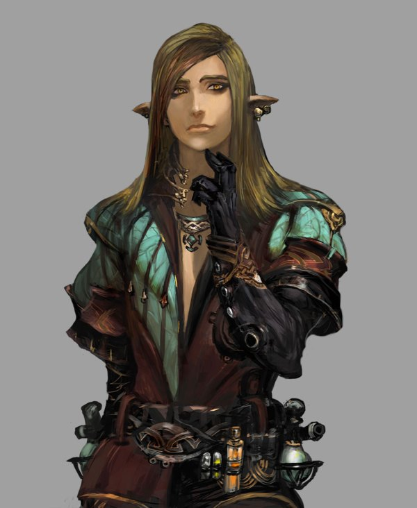 Female Elf Character Portraits