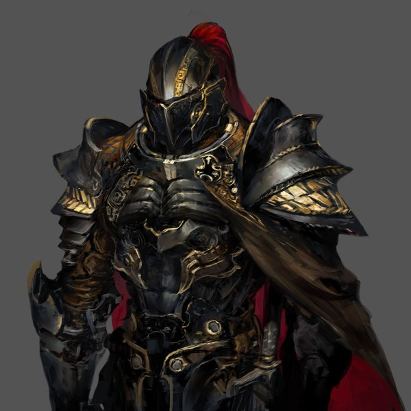 Knight - Characters & Art Stranger Of Sword City