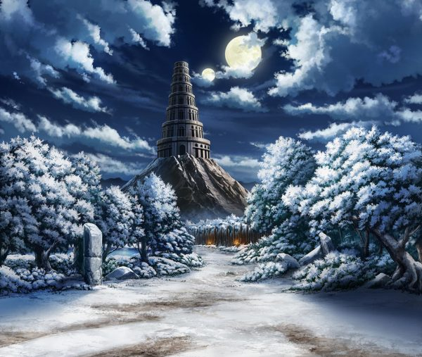 Temple Of Forest And Snow Art - Stranger Sword City