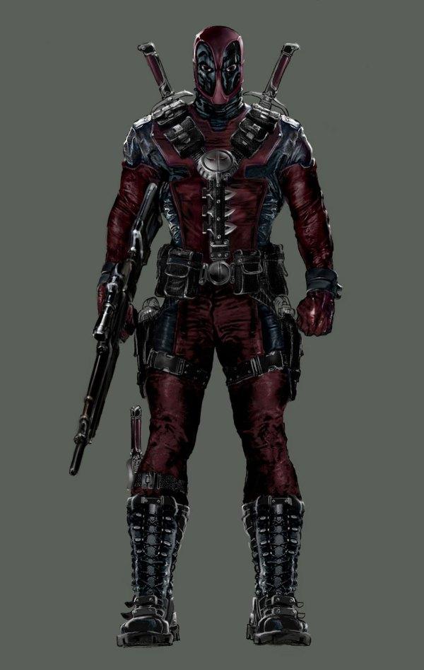 Deadpool - Characters & Art X-men Origins Wolverine