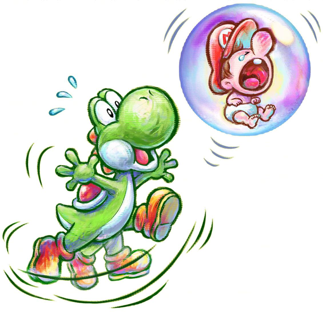 Mario Amp Yoshi Characters Amp Art Yoshis New Island