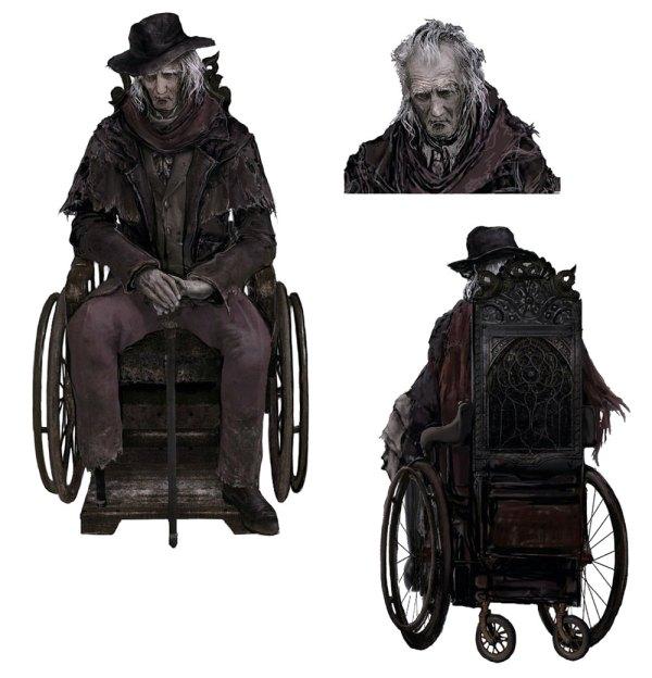 Gehrman - Characters & Art Bloodborne