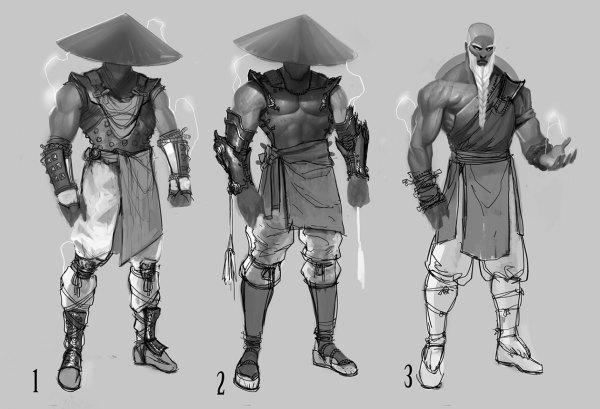 Mortal Kombat Characters Concept Art