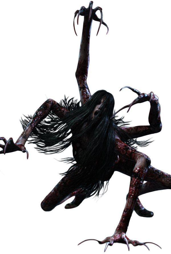 Laura Render - Characters & Art Evil