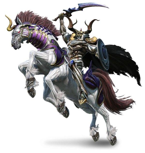 Odin - Characters & Art Dissidia Final Fantasy Nt