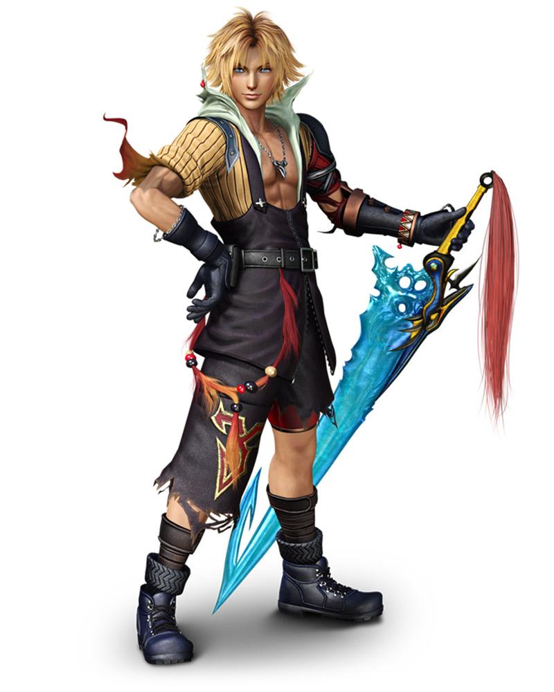 Tidus Characters Amp Art Dissidia Final Fantasy NT