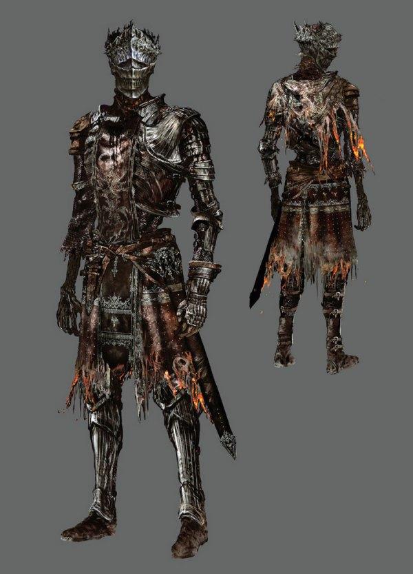 Firelink Armor Set Art - Dark Souls Iii