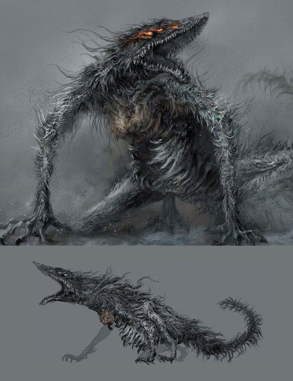 Sulyvahn' Beast Art - Dark Souls Iii