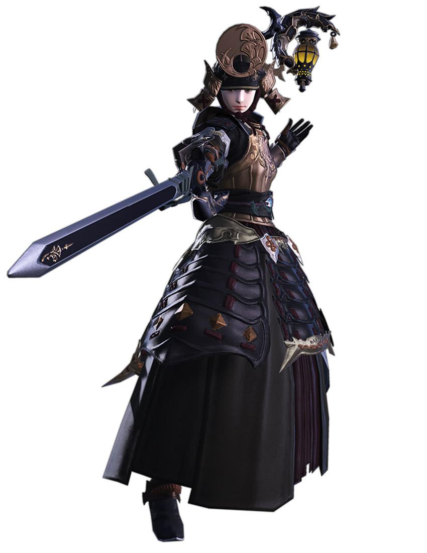 Red Mage Genji Armor Characters Amp Art Final Fantasy